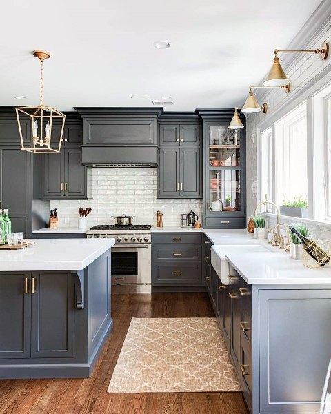 ایده های کابینت آشپزخانه تمام قد